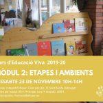 Mòdul 2: Etapes i ambients (23 de novembre)